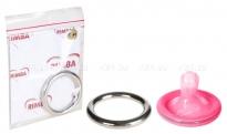 Металлическое кольцо на пенис COCK RING SILVER 4 см