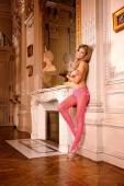 Колготки в розовую сетку Barbie