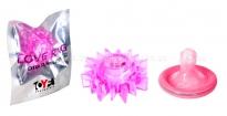 Стимулирующее эрекционное кольцо Love Ring розовый