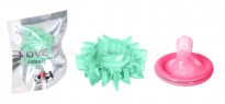 Стимулирующее эрекционное кольцо Love Ring зеленый