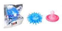 Стимулирующее эрекционное кольцо Love Ring синий