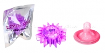 Стимулирующее эрекционное кольцо Love Ring фиолетовый