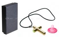 Кулон-вибратор в виде креста Cross Necklace