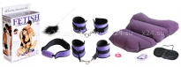 Набор для фетиша Purple Pleasure Bondage Set