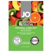 Лубрикант с тропическим вкусом на водной основе JO Sachet H2O Lubricant Tropical Passion, 3 мл