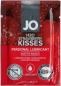 Вкусовой лубрикант на водной основе System JO - Sachet Strawberry Kiss (клубника) 3 мл
