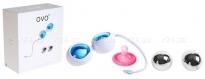 Любовные шарики OVO с дополнительным комплектов шаров (Выставочный образец)