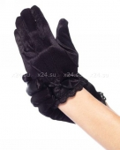 Детские перчатки с бантиками