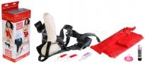 Набор (страпон-трусики и фаллос-насадка) Tranny Strap-on Kit