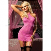 Кружевное платьице-сорочка