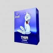 Супертонкие* презервативы AMOR® Thin Яркая Линия 3 шт.