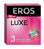 Супертонкие презервативы EROS Luxe ( 3 шт.)