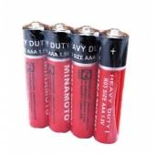 Комплект из 4 батареек AAA R03 Minamoto