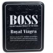 Boss Royal Viagra (природные компоненты) средство для сильной эрекции (27 табл.)