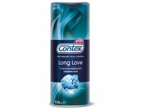 Охлаждающий лубрикант-пролонгатор Contex Long Love, 100 мл