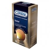 Презервативы c кольцами и пупырышками Contex Relief №12 (12 шт.)