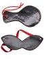 Черная БДСМ хлопалка с маской PentHouse