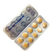 Super Tadarise (Дапоксетин 60 мг. + Тадалафил 20 мг.) лекарство повышения потенции (10 таб.)