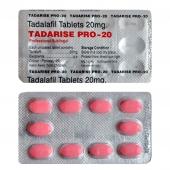 Дженерик сиалиса (Тадалафил Про 20 Tadarise Pro-20 Sublingul) таблетки для рассасывания для увеличения потенции 10 таб. 20 мг