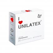 Презервативы Unilatex Ultra Thin ультратонкие 3 шт.